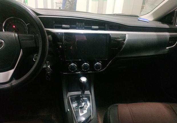 丰田卡罗拉 2017款 1.2T 自动 GL (国Ⅴ)