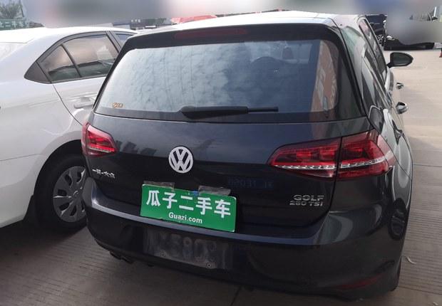 大眾高爾夫 2017款 1.4T 自動 汽油 280TSI R-Line百萬輛紀念版 (國Ⅴ)