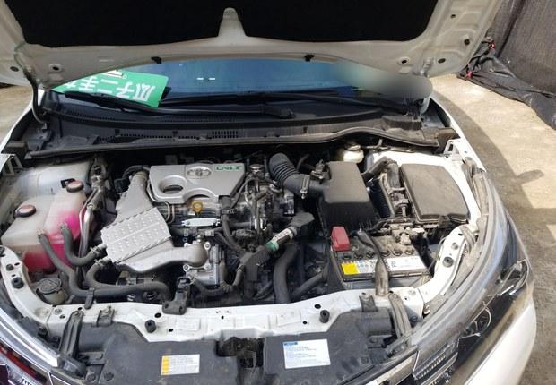 丰田卡罗拉 2017款 1.2T 自动 GL-i真皮版 (国Ⅴ)