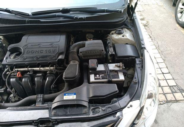 现代索纳塔 2014款 2.4L 自动 GLX豪华版 (国Ⅳ)