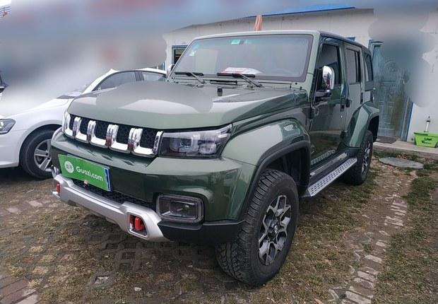 北京汽车40 2018款 2.3T 自动 四驱 尊享版 (国Ⅴ)