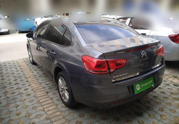 雪铁龙世嘉 2012款 1.6L 自动 品尚型 (国Ⅳ)