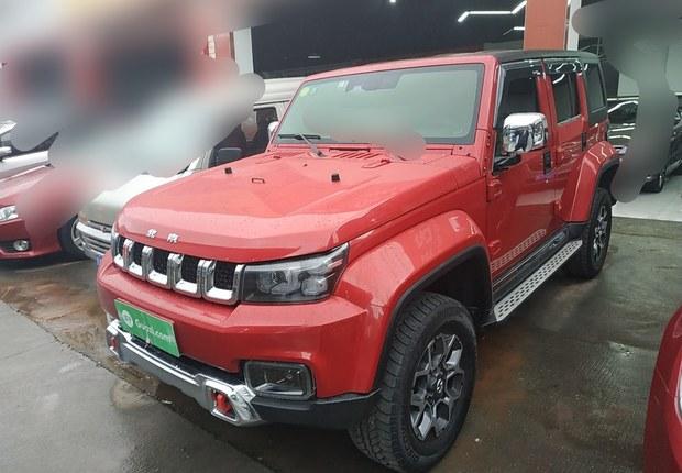 北京汽车40 2018款 2.3T 自动 四驱 旗舰版 (国Ⅴ)