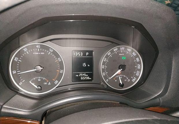斯柯达明锐 2012款 1.6L 自动 逸俊版 (国Ⅳ)