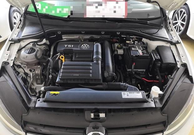 大众高尔夫 2018款 1.4T 自动 汽油 230TSI舒适型 (国Ⅴ)