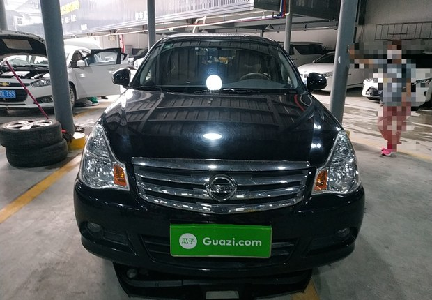 日产轩逸 2012款 1.6L 自动 XE舒适版经典款 (国Ⅳ)