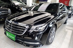奔驰S级 2019款 S 350 L 豪华型(进口)