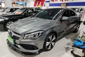 奔驰CLA级 2017款 改款 CLA 200 时尚型(进口)